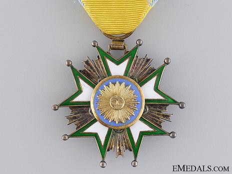 Order of the Crown (Order of Taj), V Class Knight Reverse
