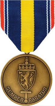 Medal for Defence Operation Abroad (Bosnia-Herzegovina) Obverse