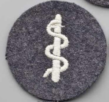 Luftwaffe Medical Personnel Insignia Obverse