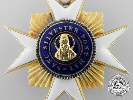 Order of St. Sylvester Commander (with gold) Obverse