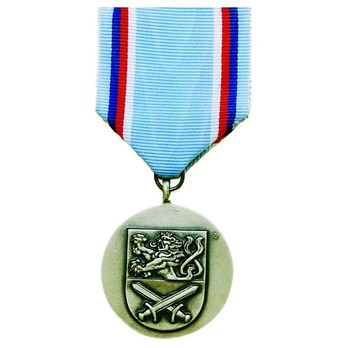 Medal of the Army of the Czech Republic, III Class Medal Reverse