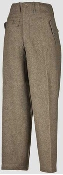 Waffen-SS NCO/EM's Trousers M44 Obverse
