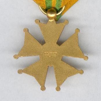Bronze Cross (1909-1958) Reverse