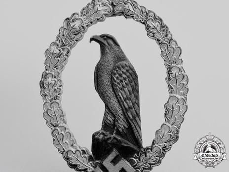 Pilot Commemorative Badge Detail