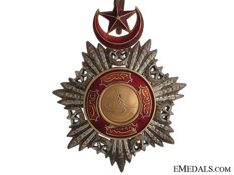 Order of Medjidjie, Civil Division, II Class Obverse