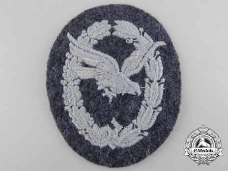 Air Gunner & Flight Engineer Badge, in Cloth Reverse
