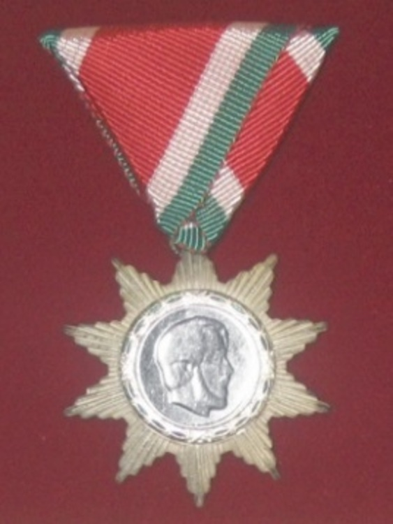 Hungarian+order+of+freedom%2c+silver+medal