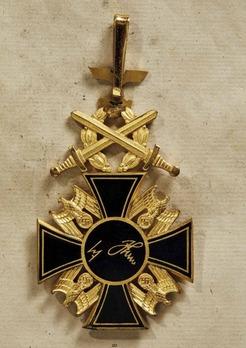 German Order, I Class Cross Reverse