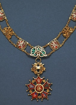 I Class with Collar (Civil Division) Reverse