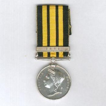 "Silver Medal (with ""1898"" clasp) Obverse"