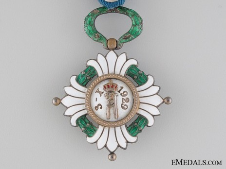 Order of the Yugoslav Crown, Officer's Cross Reverse