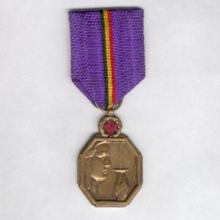 Bronze medal w cross o
