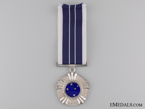 Southern Cross Medal, Silver Star Obverse
