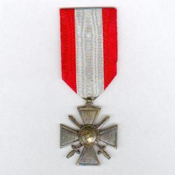 """Bronze Cross (with """"TOE"""" on reverse) Obverse"""
