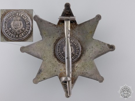 Cravanzola Cartouch, Italy, Order of the Crown, Commander's Star
