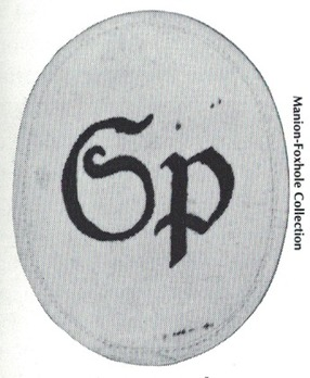 Kriegsmarine Sports Instructor Insignia Type I (second pattern) Obverse