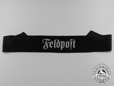 German Army Feldpost Cuff Title Obverse