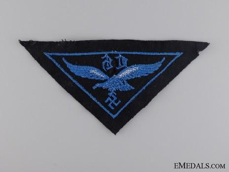HJ Luftwaffe War Auxiliaries (Flak Helpers) Insignia Reverse
