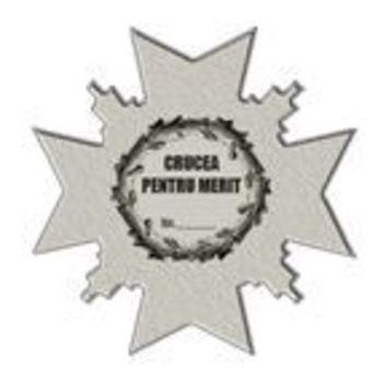 Merit Cross, II Class Reverse