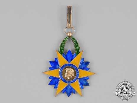 Order of the Equatorial Star, Commander Obverse