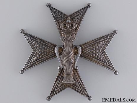 I Class Commander Breast Star (by C. F. Carlman) Obverse