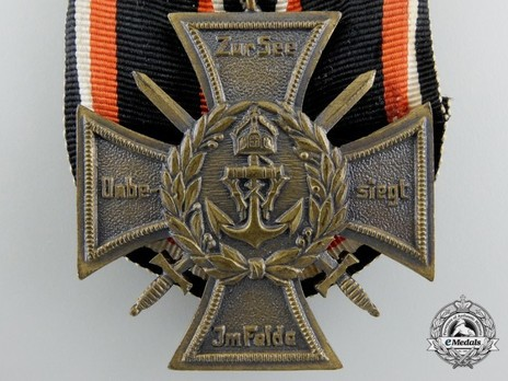 Commemorative Honour Cross of the Navy Corps, Flanders (with clasps) Obverse