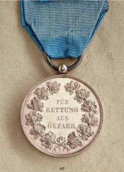 "Life Saving Medal (stamped ""E. W."")"