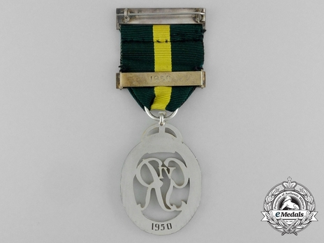 Decoration (for Territorial Army, with GVIR cypher, with 1 clasp) Reverse
