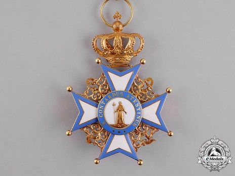 Commander, Foreign Division (with crown) Reverse