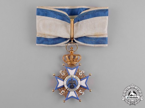 Commander, Foreign Division (with crown) Ribbon