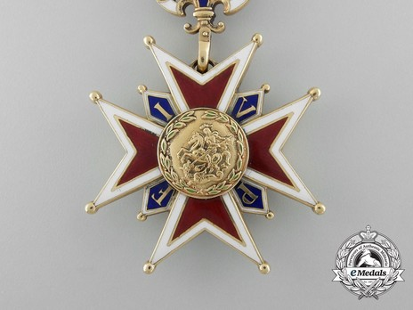 Military Order of St. George, Knight's Cross Obverse
