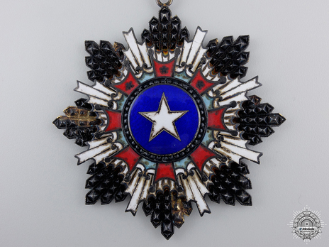 Order of the Brilliant Star, I Class Star Obverse