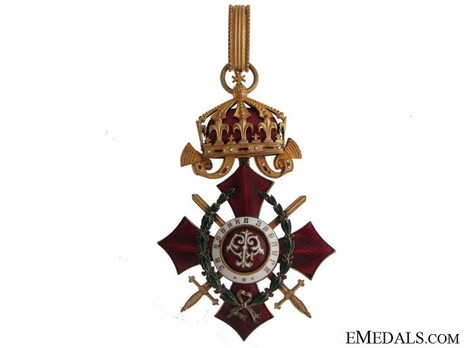 Order of Military Merit, III Class (with war decoration 1916-1933) Obverse