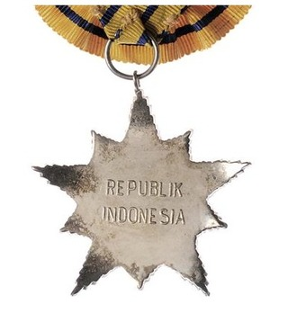 Star of the Republic of Indonesia, Class II Star Reverse