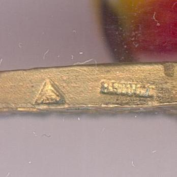 "Bronze Medal (stamped ""C. CHARLES"") (by Chobillon) Rim"