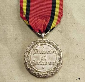 Decoration for Art and Science, Silver Medal  (1909-1918)