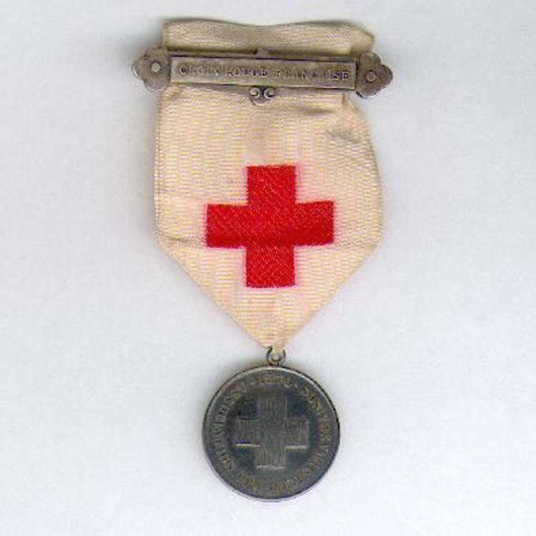 Silver medal with suspension clasp1
