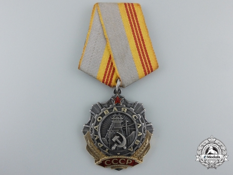 Order of Labour Glory III Class Medal Obverse