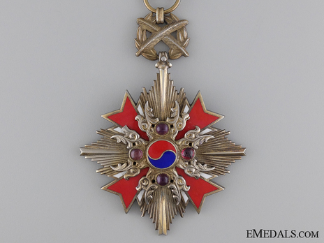 Order of Diplomatic Service Merit, Type II, I Class, Grade I (Grand Gwanghwa Medal) Obverse