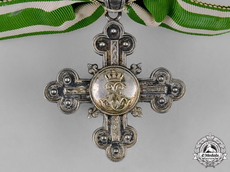 Long Service Cross, for 30 Years (1886-1895) Obverse