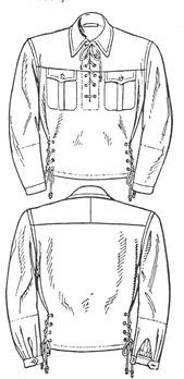 HJ Ski Uniform Obverse & Reverse