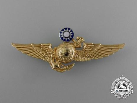 Republic of Taiwan Marine Corps Light Aviation Pilot Badge Obverse