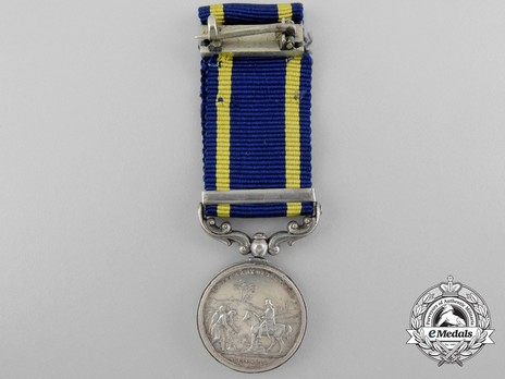 """Miniature Medal (with """"CHILIANWALA"""" clasp) Reverse"""