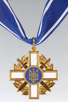 Order for Courage, I Class Badge Obverse