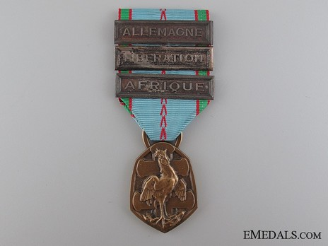 """Bronze Medal (with 3 clasps, stamped """"G. SIMON"""" """"F. JOSSE"""") Obverse"""