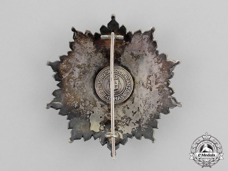 Grand Cross Breast Star Reverse