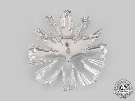Order of Tudor Vladimirescu, III Class Breast Star (silvered)