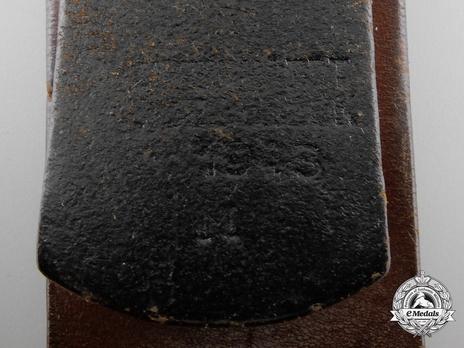 Kriegsmarine NCO/EM Belt Strap (Leather version) Obverse
