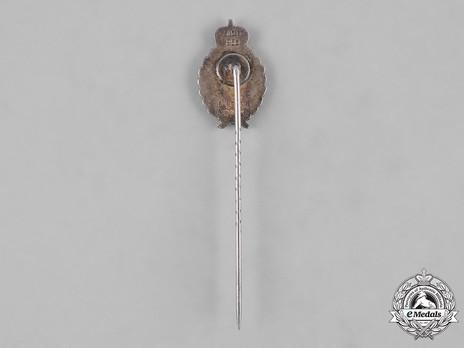 First War Luftfahrerverband Membership Stick Pin Reverse