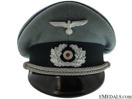 German Army Medical Officer's Visor Cap Front
